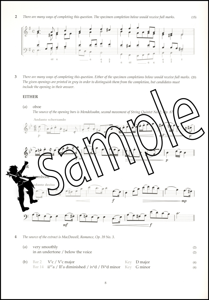 Image Result For Abrsm Music Theory Answers