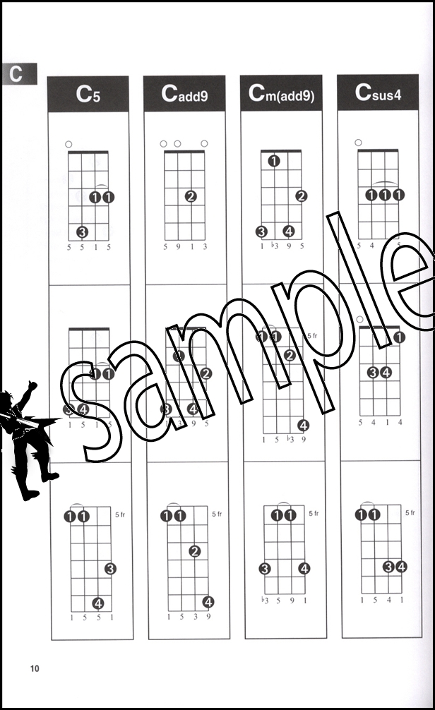 Mandolin Chord Finder A5 Edition Chord Book OVER 1000 CHORDS ...
