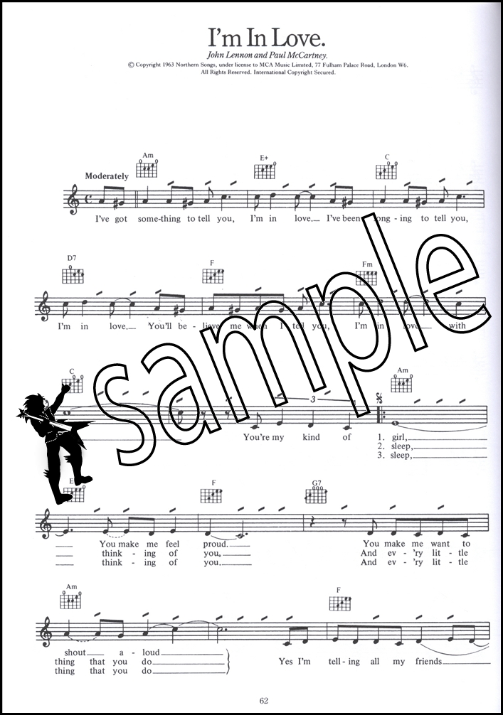 The Beatles Complete Guitarvocal Chord Melody Songbook Music Book