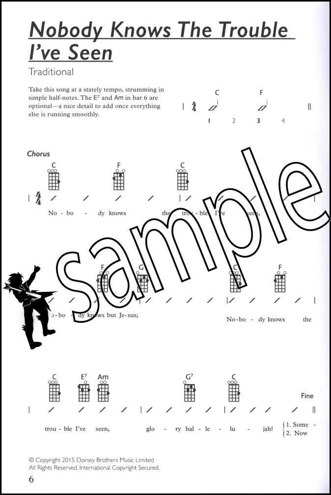 The Complete Ukulele Player Songbook Book 1 Chord Shapes Strumming