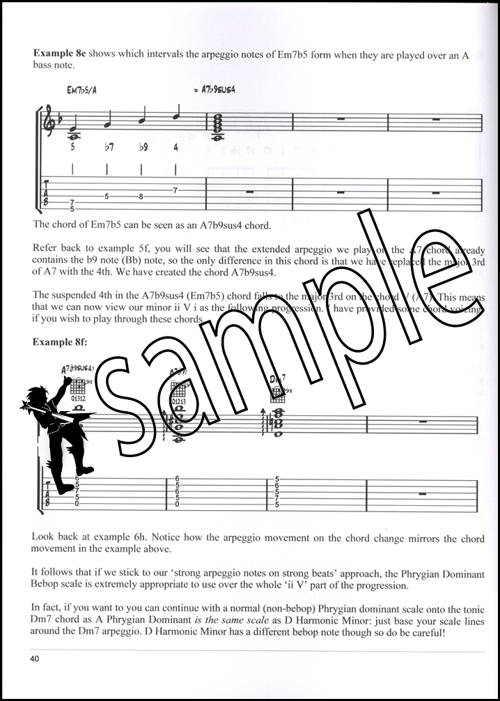 Minor ii V Mastery for Jazz Guitar Book/Audio | Hamcor