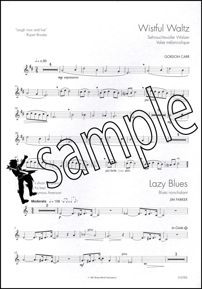 top line album for trombone treble clef piano sheet music book ebay. Black Bedroom Furniture Sets. Home Design Ideas