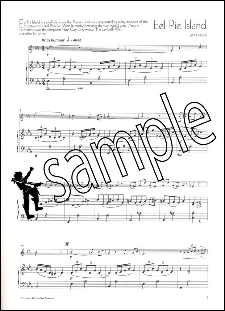 Piano somewhere only we know piano sheet music : The Music of Jim Parker for Clarinet & Piano Sheet Music Book TV ...