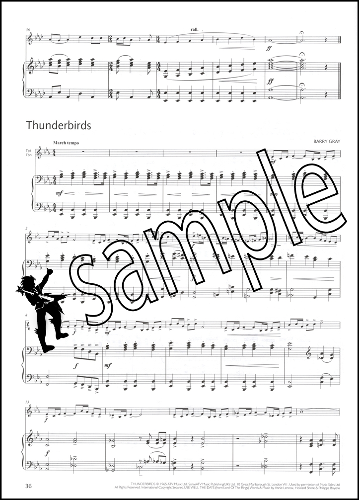 Great Winners Piano Acompaniment for Trumpet & Trombone   Hamcor