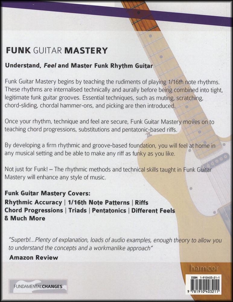 Funk Guitar Mastery Book/Audio | Hamcor