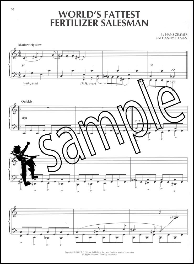The Simpsons Movie Piano Solo Sheet Music Book Film Soundtrack   eBay