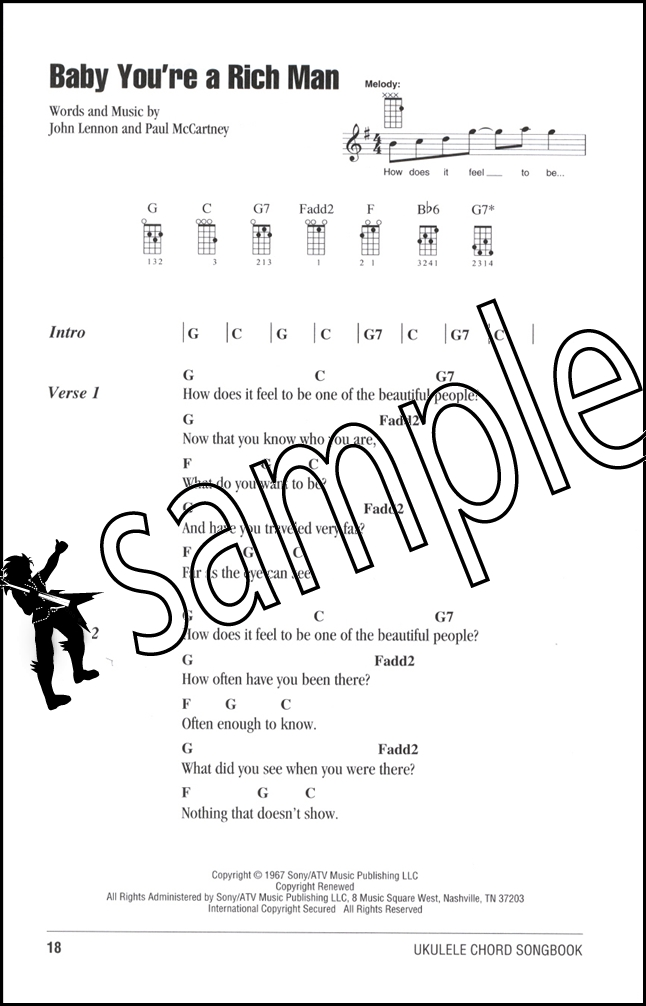 The Beatles Ukulele Chord Songbook Hamcor