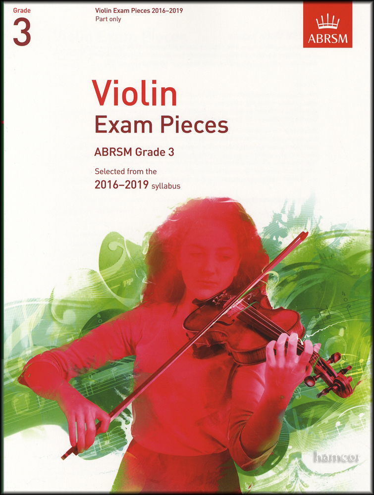 violin exam pieces 2016 2019 abrsm grade 3 part only sheet music book 9781848496958 ebay. Black Bedroom Furniture Sets. Home Design Ideas