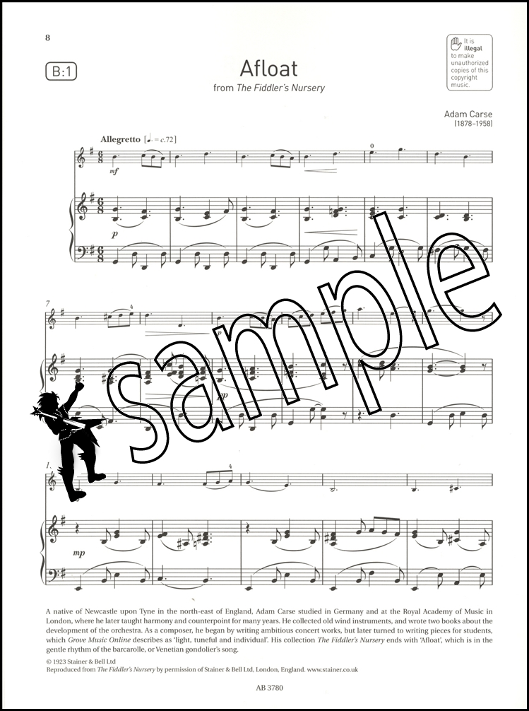 Violin Exam Pieces 2016-2019 ABRSM Grade 2 Score & Part Sheet ...