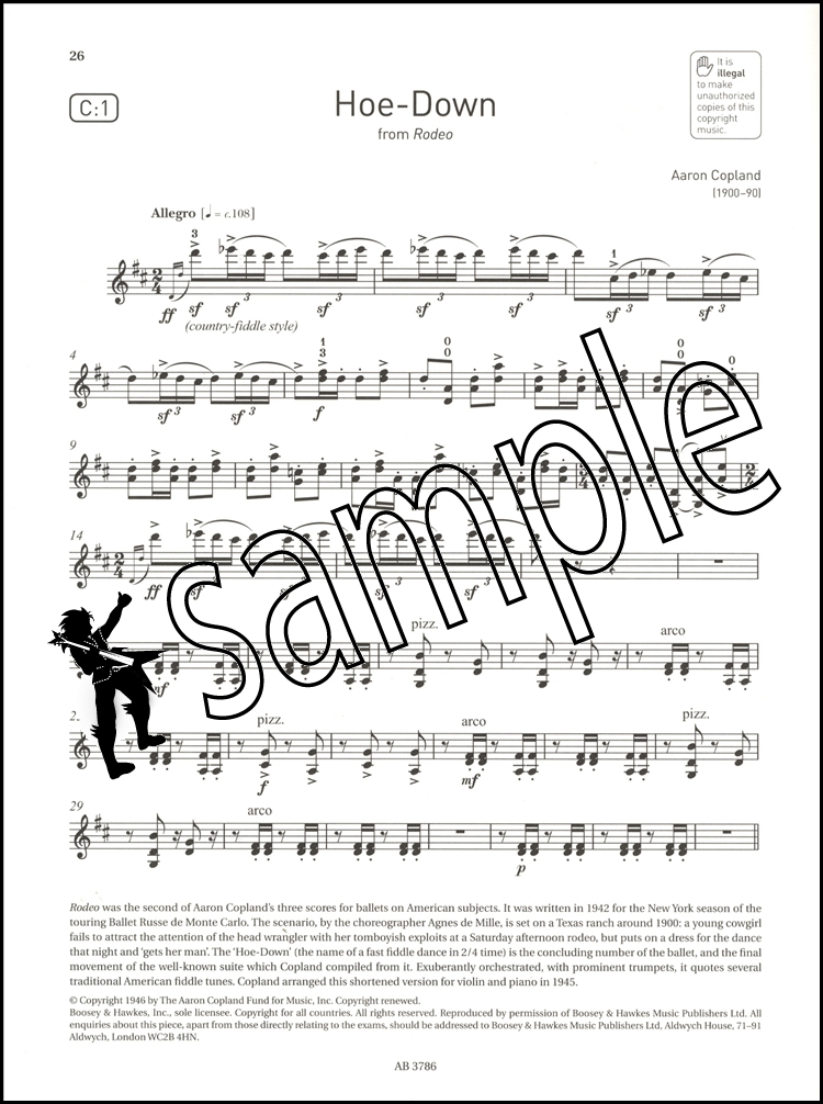Violin Exam Pieces 2012-2015, ABRSM Grade 1, Score and Part: Selected from the 201