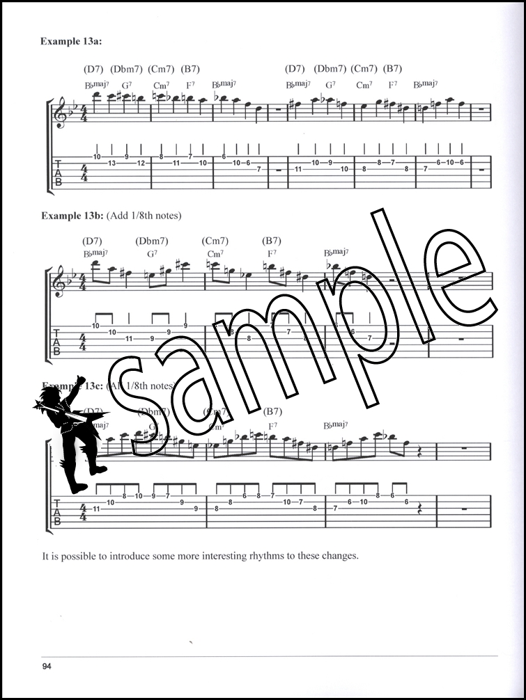 Chord Tone Soloing For Jazz Guitar Tab Music Book With Audio Learn