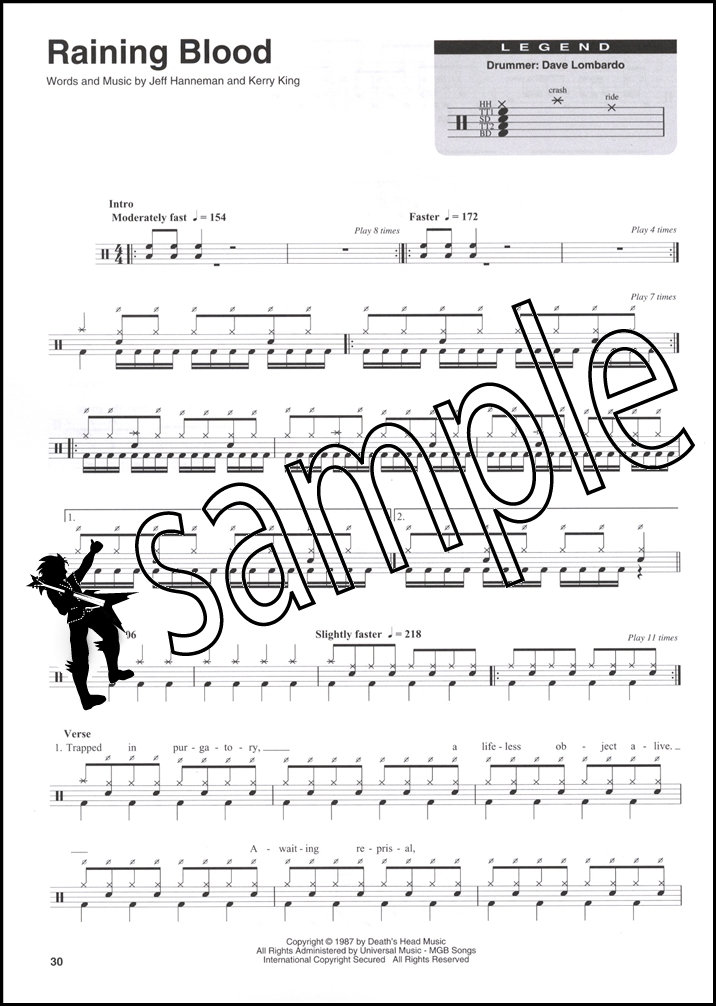 how to read drum sheet music book