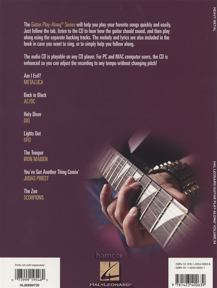 AC/DC Songbook: Bass Play-Along Volume 40 AC/DC