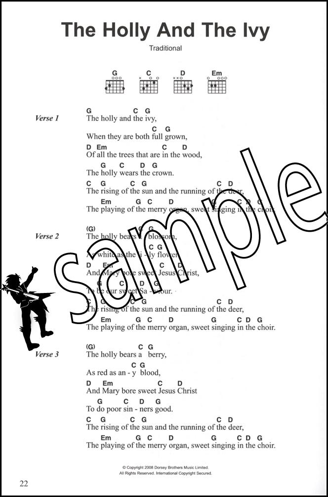 4 Chord Songbook Christmas Songs Guitar Chord Songbook Ebay