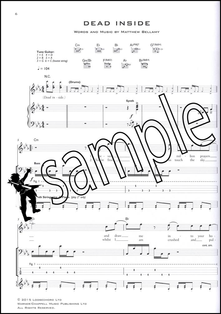 Muse Drones Guitar Tab Edition Hamcor