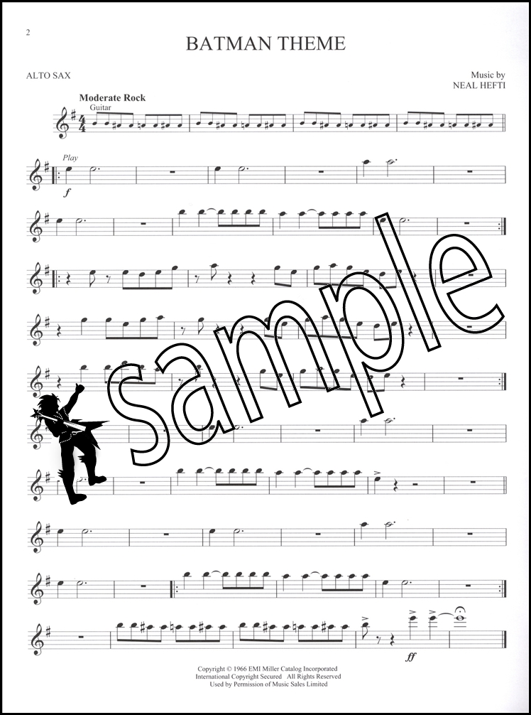 Great Movie Themes for Alto Sax Book/Audio | Hamcor
