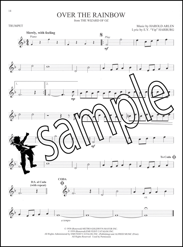 Great Movie Themes for Trumpet Book/Audio | Hamcor
