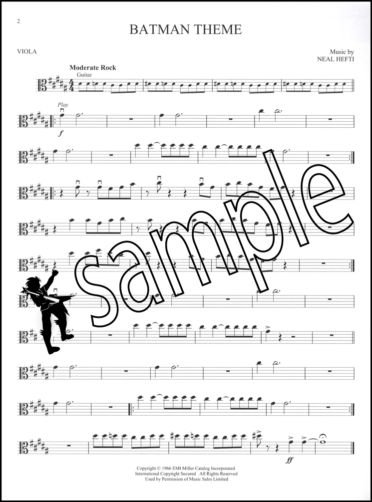 Great Movie Themes for Viola Instrumental Play-Along Sheet Music ...