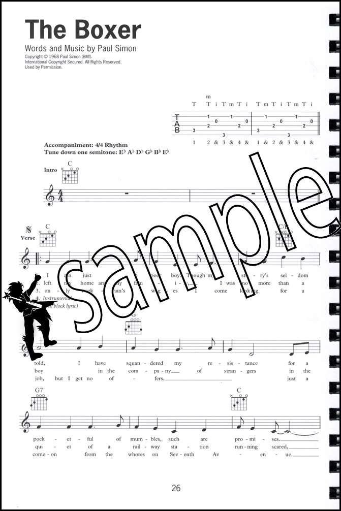 Guitar guitar lyrics : The Buskers Songbook Lyrics Guitar Chord and Melody Line Queen ...