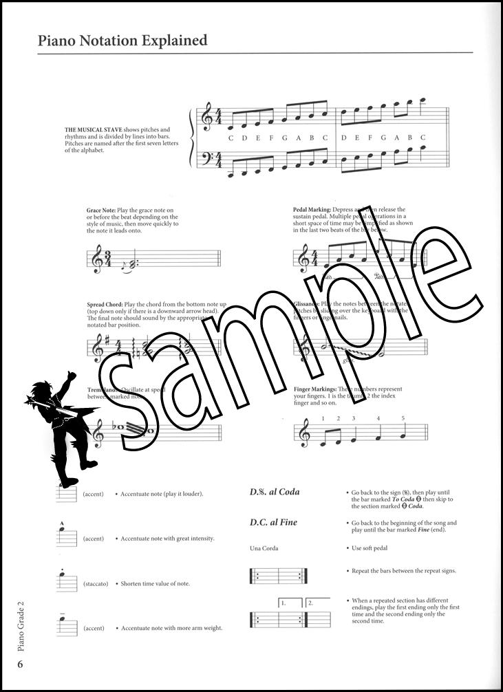 Rockschool Piano Grade 2 Exam Sheet Music Book/Audio Coldplay ...