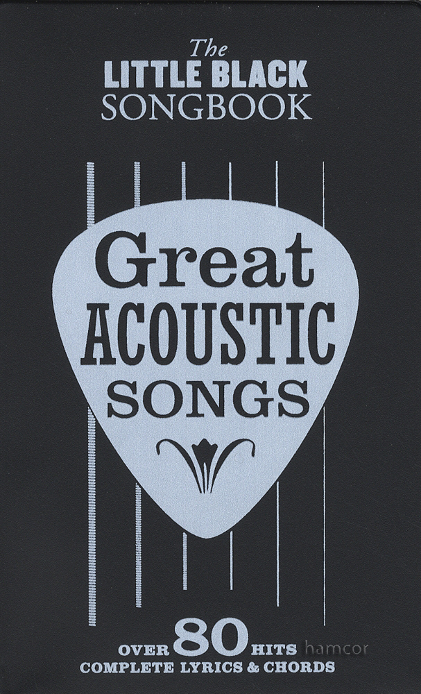Great Acoustic Songs The Little Black Songbook Guitar Chords