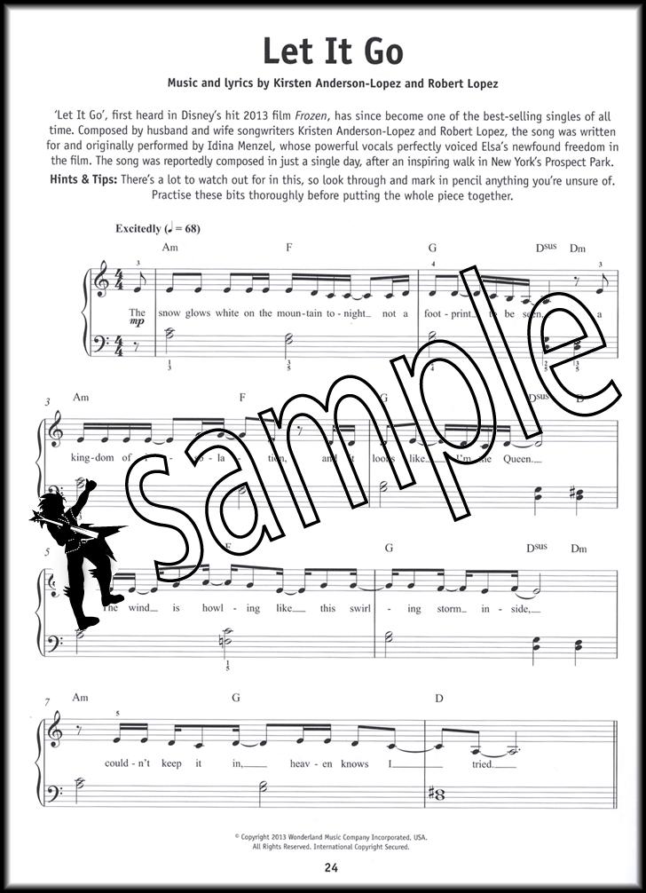 Piano easy piano sheet : Really Easy Piano Disney Hits Sheet Music Book Frozen Wall-E ...