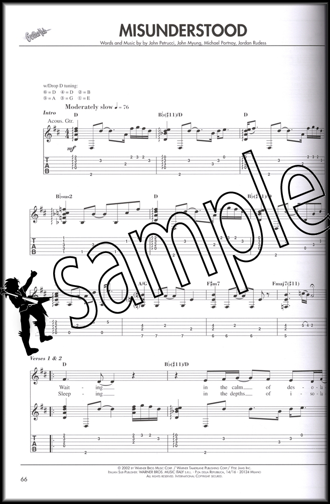 Dream Theater Guitar Tab Anthology Vol 2 Hamcor