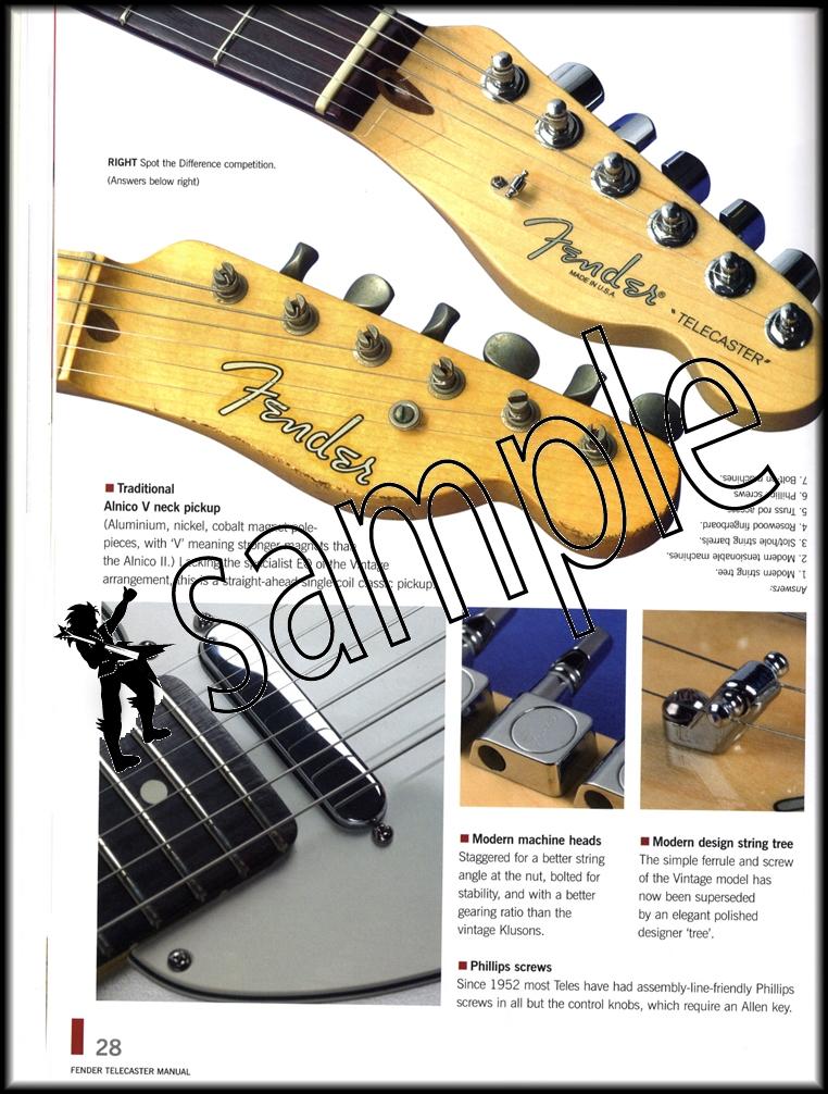 haynes fender telecaster manual softcover hamcor rh hamcor co uk 1967 Fender Stratocaster Fender Stratocaster Manual PDF