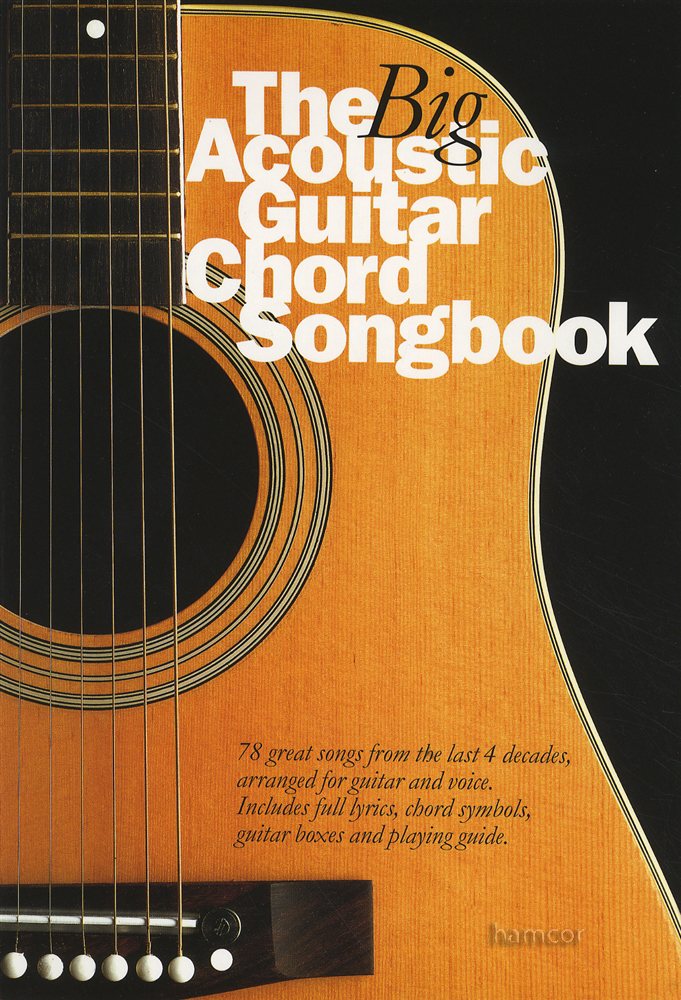The Big Acoustic Guitar Chord Songbook Bob Dylan Marley Who Corrs ...