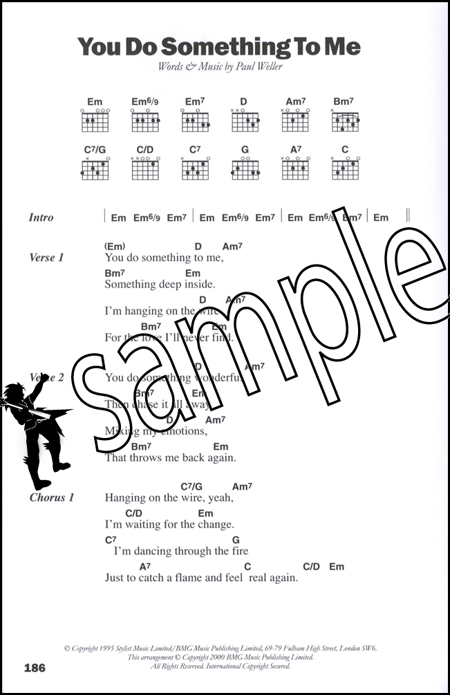 The Big Acoustic Guitar Chord Songbook Hamcor