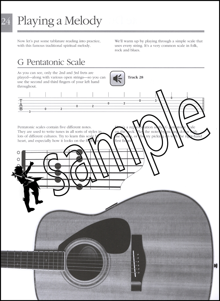 Absolute Beginners Acoustic Guitar Book Audio
