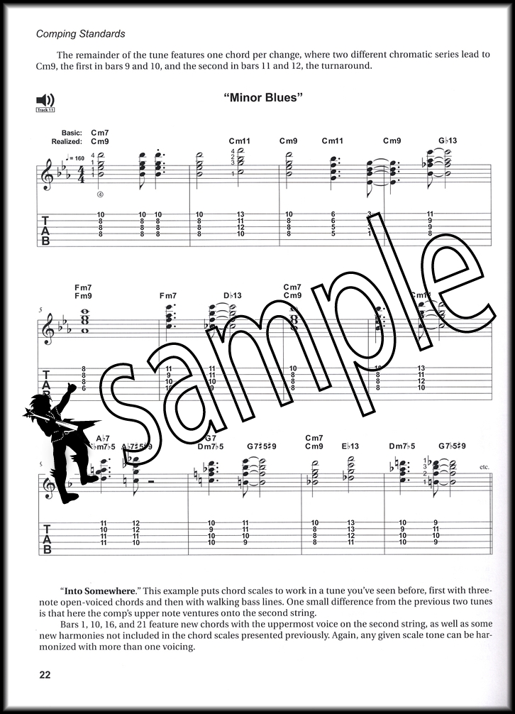 Comping Standards For Jazz Guitar Bookcd Hamcor