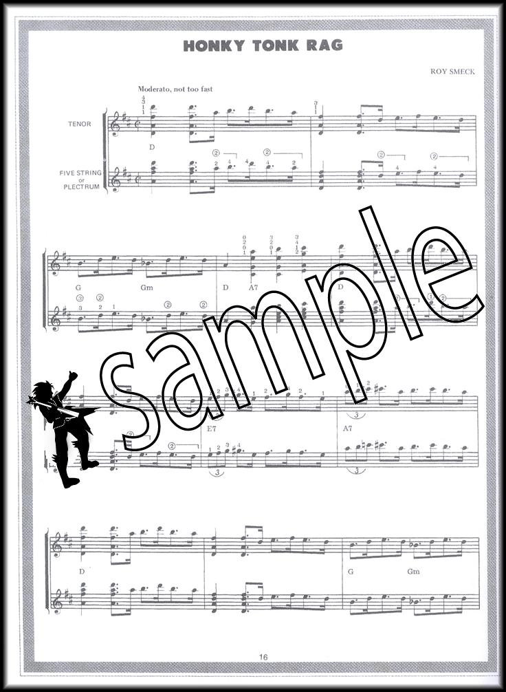 Ragtime Banjo For Tenor Or Plectrum Banjo Hamcor