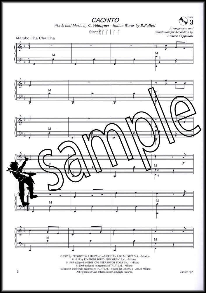Sentinel Anthology For Accordion 4 Sheet Music Bookcd 30 All Time Favorites: Hey Mambo Sheet Music At Alzheimers-prions.com