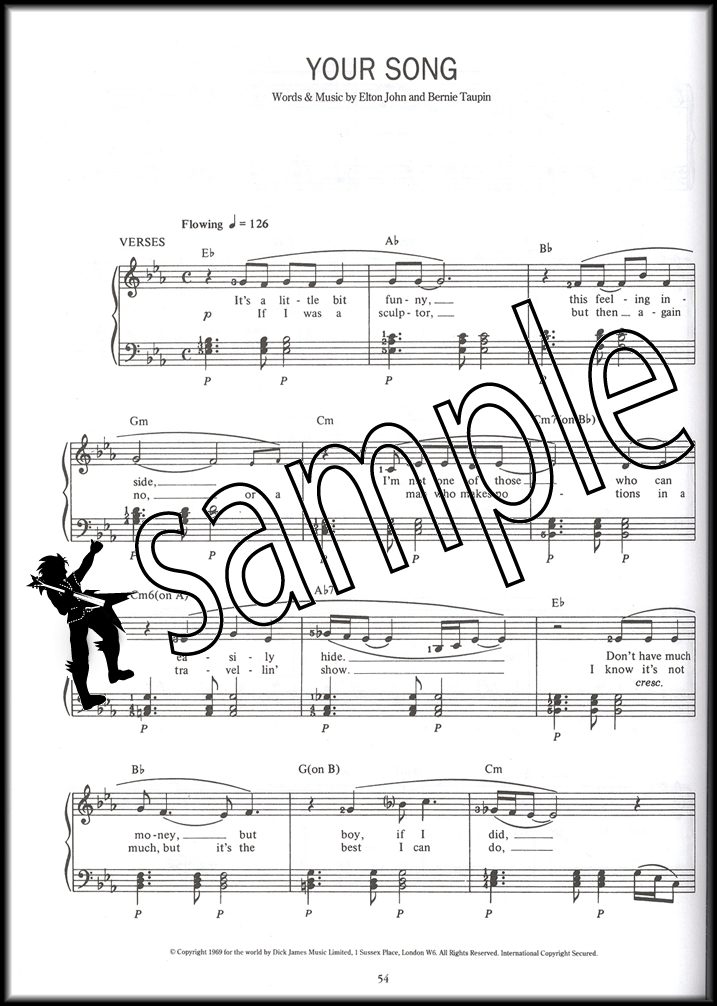 The Complete Piano Player Hit Songs Sheet Music Book 40 Favorites