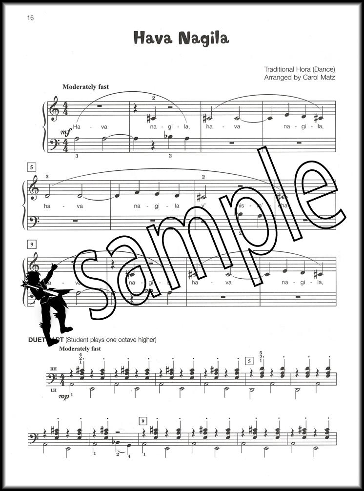 Famous & Fun Jewish Songs Book 2 | Hamcor