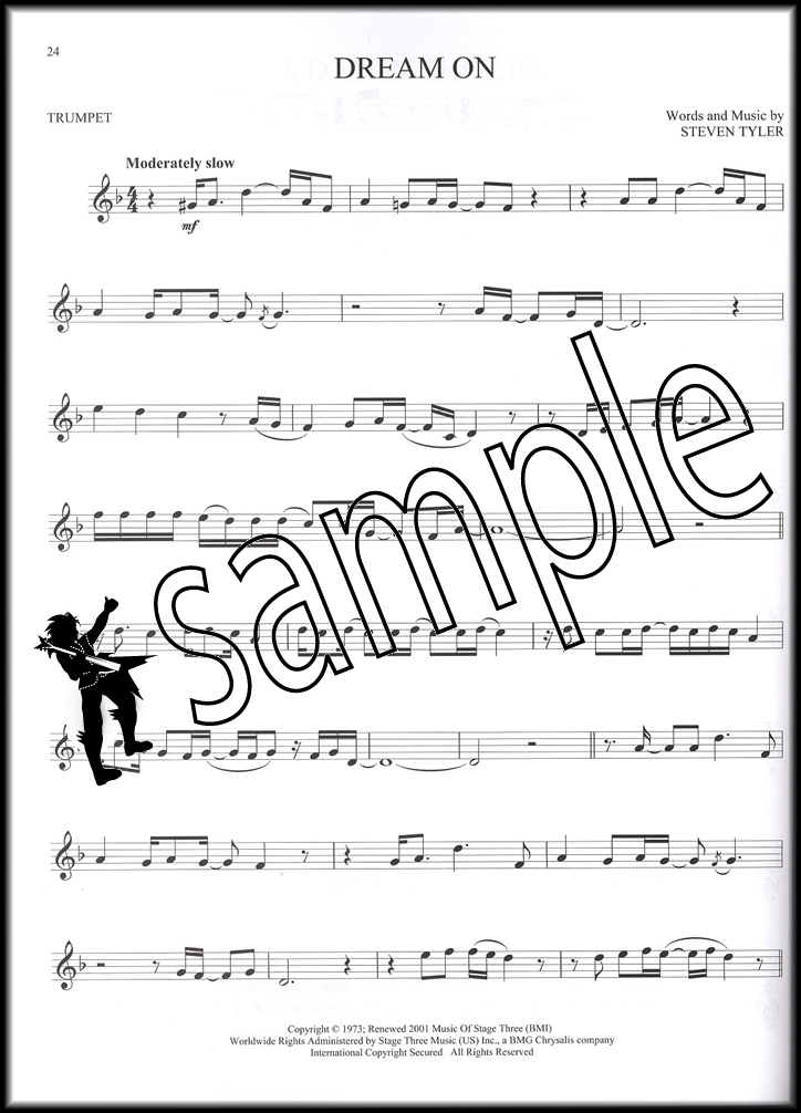 All Music Chords great balls of fire sheet music : Selections from 100 Greatest Songs of Rock & Roll for Trumpet ...