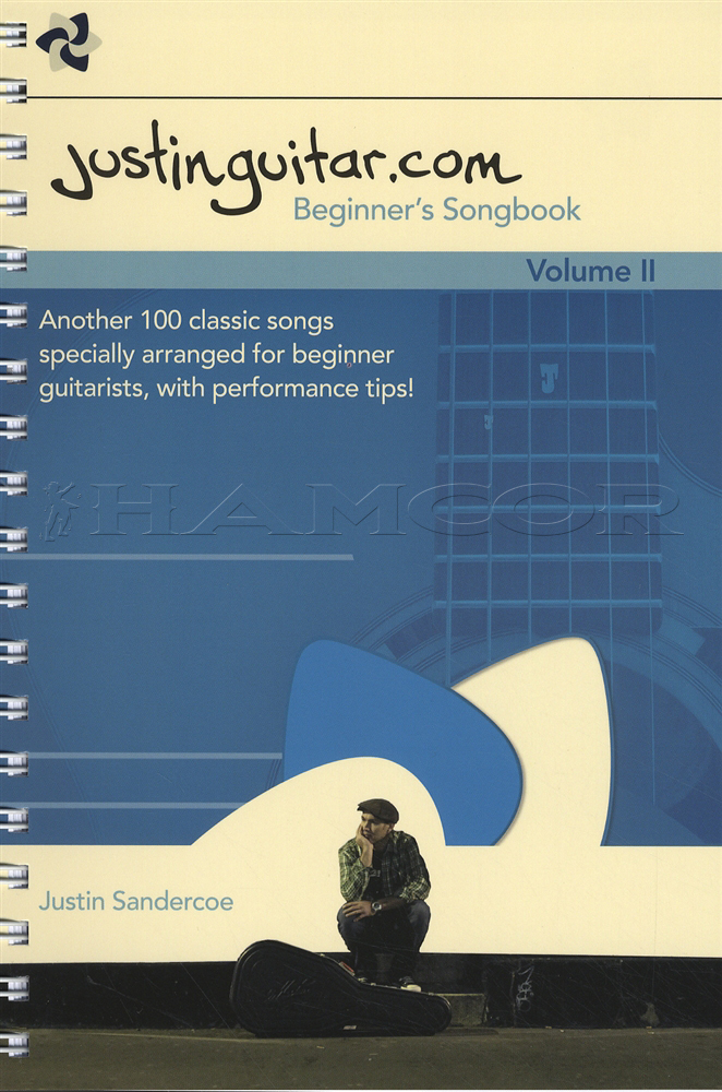 Justinguitar Beginners Songbook Volume 2 Hamcor