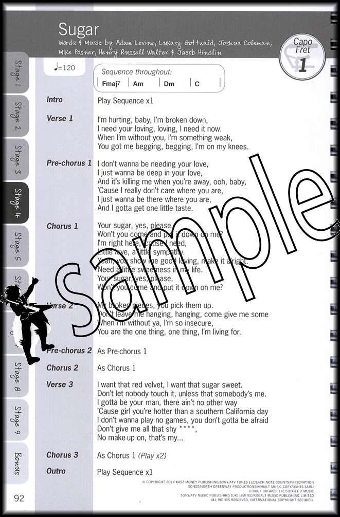 Justinguitar Beginners Songbook Volume 2 Chord Songbook Spiral
