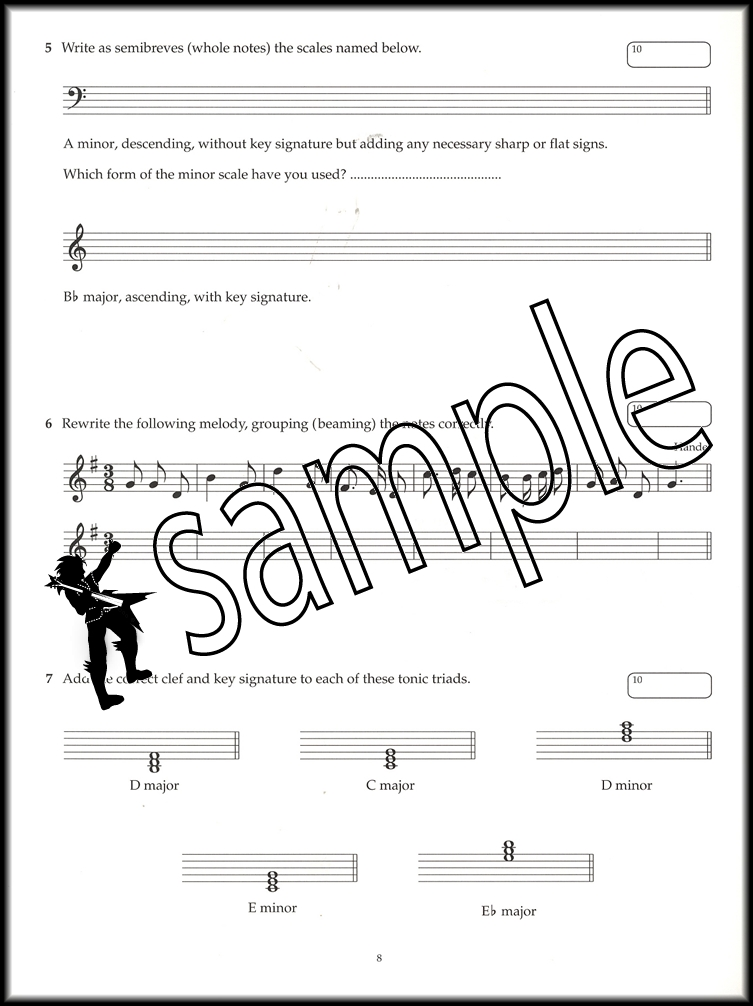 Image Result For Abrsm Music Theory Exam Papers