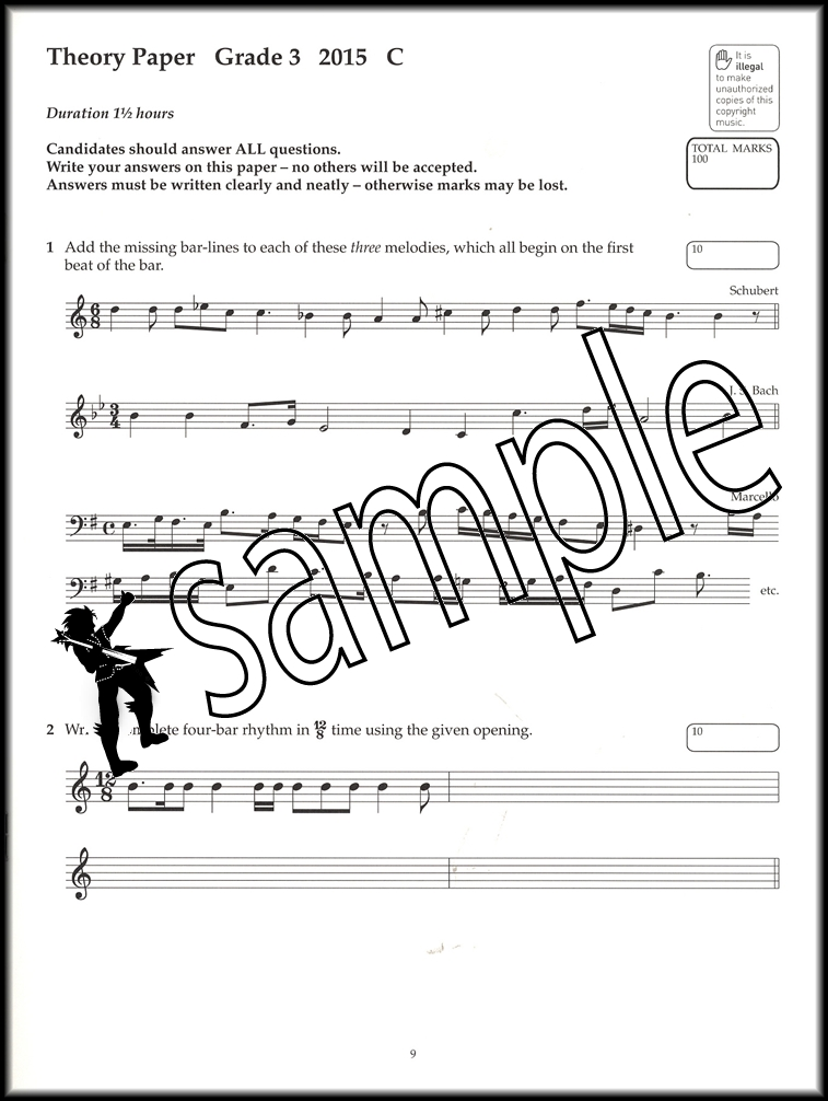 Image Result For Abrsm Music Theory Past Papers Pdf