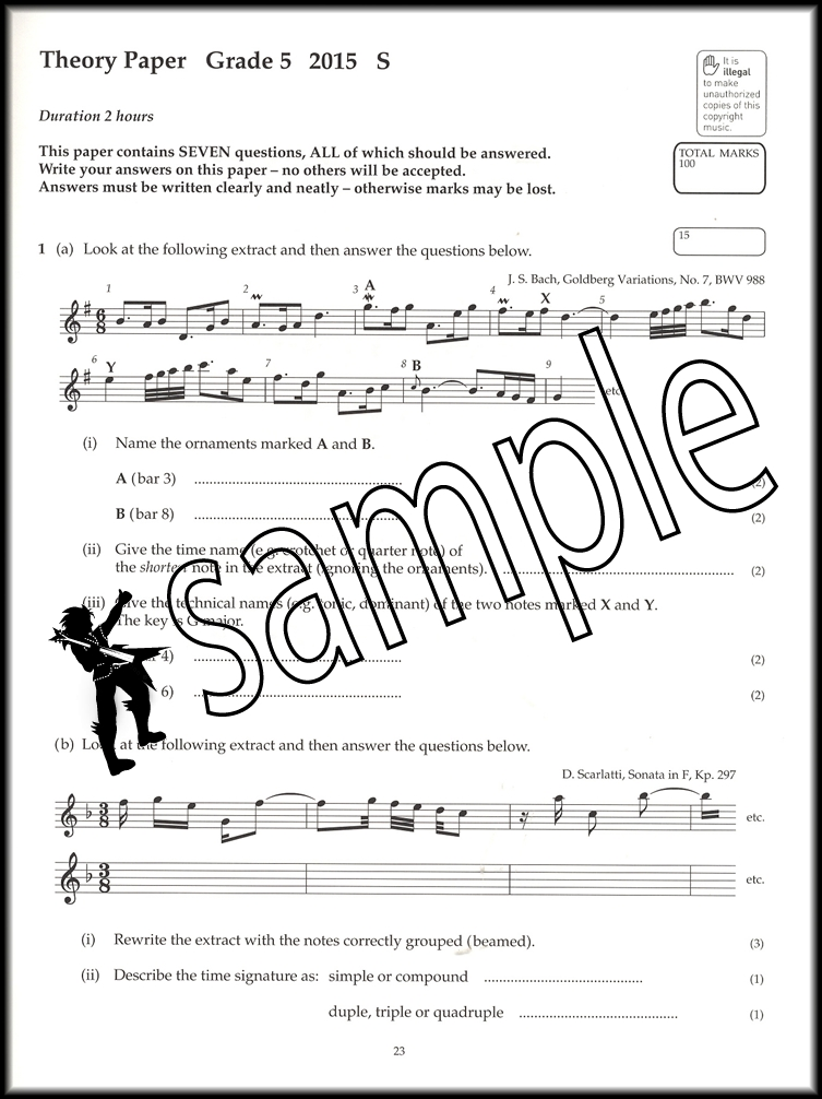 Image Result For Abrsm Grade Music Theory In Practice