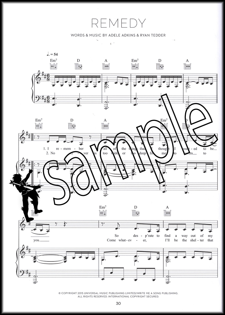 Adele 25 Piano Vocal Guitar Sheet Music Book Hello Million Years ...