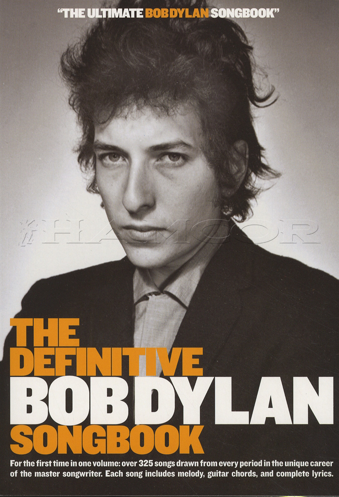 Lyric i dreamed i saw st augustine lyrics : The Definitive Bob Dylan Songbook Chord & Melody | Hamcor