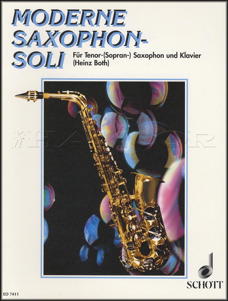 Modern Saxophone Solos For Tenor or Soprano Sax in B Flat Sheet ...