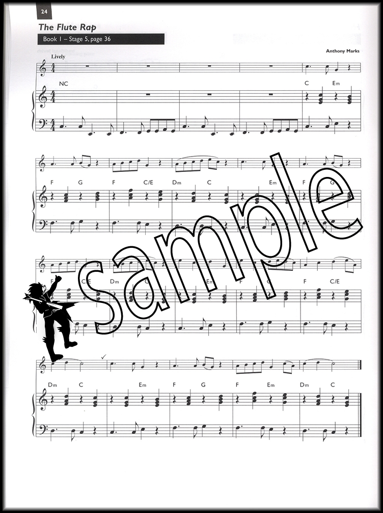 Boosey Woodwind Method Flute Piano Keyboard Accompaniment Sheet ...