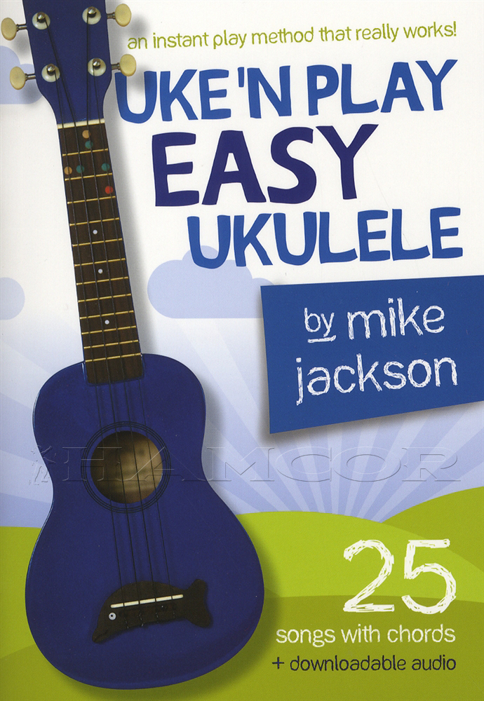 Uken Play Easy Ukulele Chord Songbook Method Learn How To Play Book