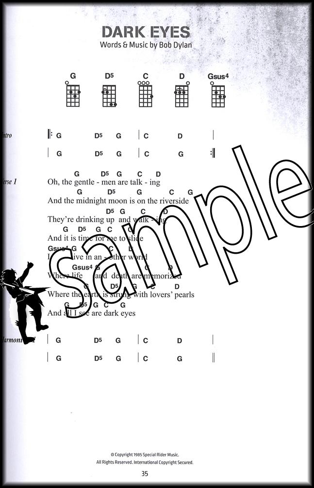Bob Dylan Ukulele Chord Songbook | Hamcor