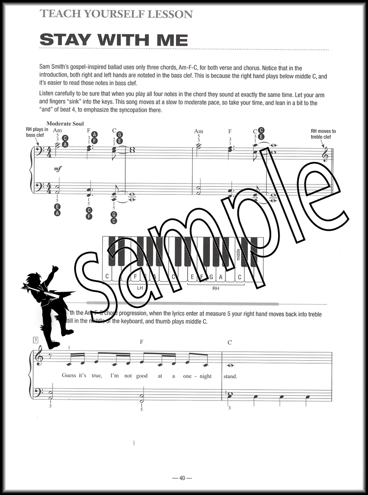 Teach Yourself To Play Piano Songs Someone Like You Hamcor