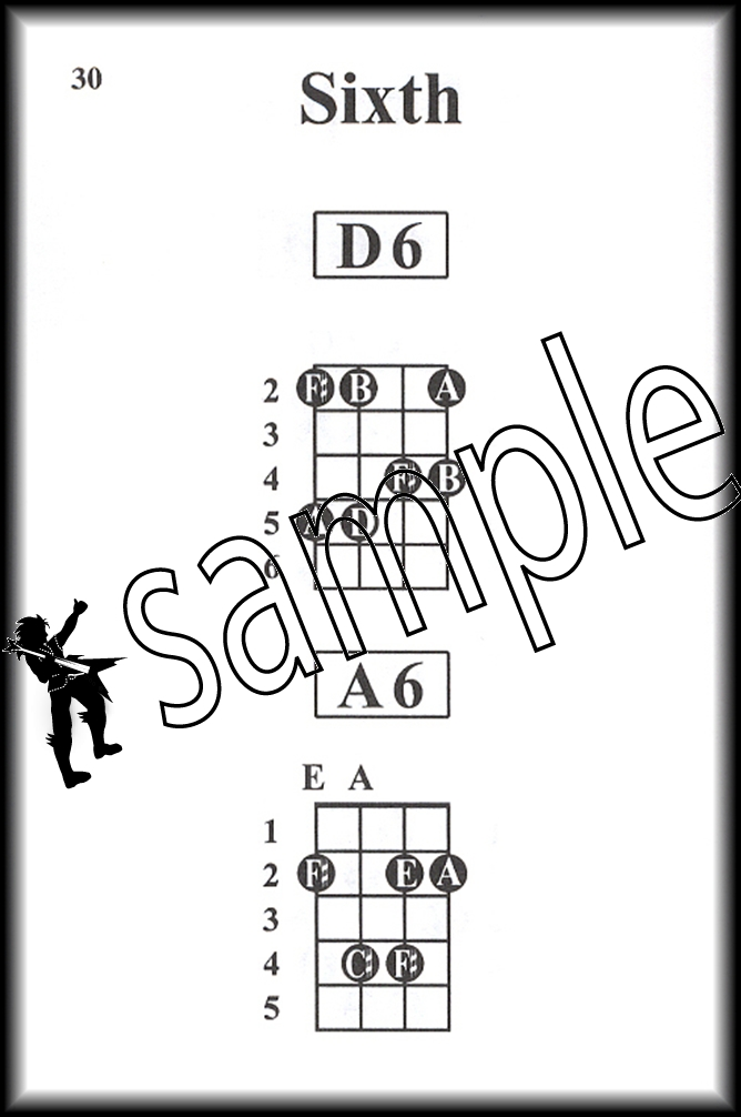 Pocketbook Deluxe Series Bass Guitar Chords Chord Book By William